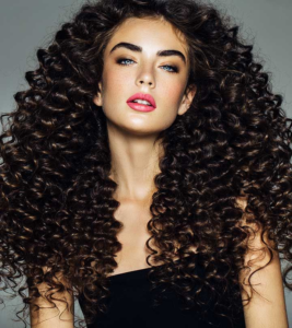 Beautiful curly hair weave hairstyle